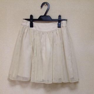 ローリーズファーム(LOWRYS FARM)のローリーズファーム♡チュールスカート(ミニスカート)
