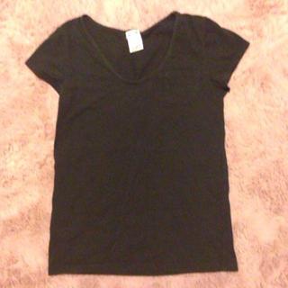 エックスガール(X-girl)のx-girlシンプル黒Tシャツ(Tシャツ(半袖/袖なし))