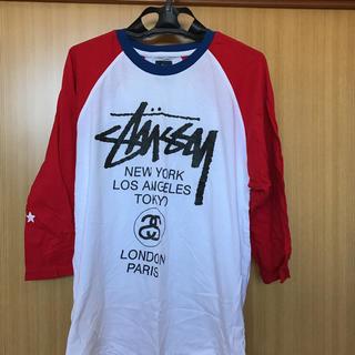 ステューシー(STUSSY)のSTUSSY✴︎ラグラン(Tシャツ/カットソー(七分/長袖))