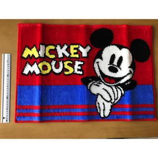 ディズニー(Disney)のミッキー マット 箱無し価格(玄関マット)
