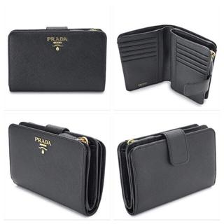 プラダ(PRADA)のタイムセール!付属品有 PRADA サフィアーノ レザー 二つ折り 財布(財布)