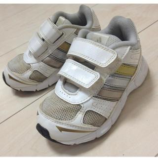 アディダス(adidas)の金・銀ライン入りスポーティスニーカー❤(その他)