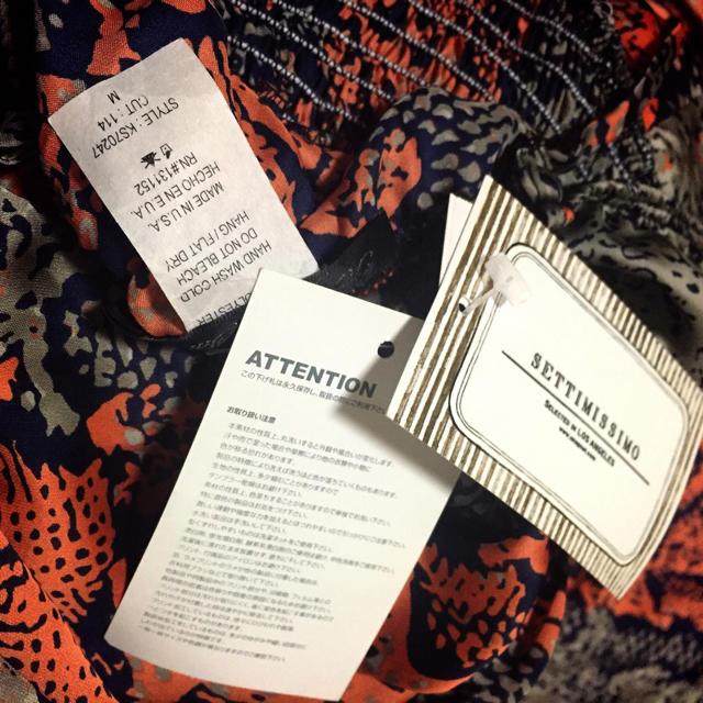 新品settimissimo⋈マキシワンピ レディースのフォーマル/ドレス(ロングドレス)の商品写真