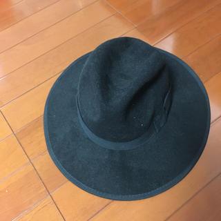 シマムラ(しまむら)の帽子 ハット 黒(ハット)