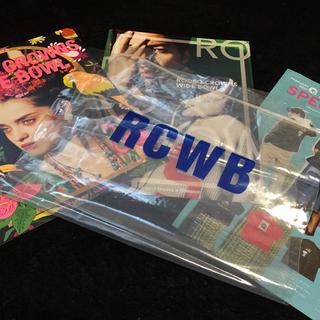 ロデオクラウンズワイドボウル(RODEO CROWNS WIDE BOWL)のRODEO CROWNS カタログ フライヤー 非売品(ファッション)