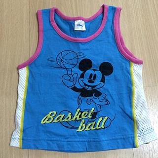 ディズニー(Disney)のミッキー タンクトップ(タンクトップ/キャミソール)