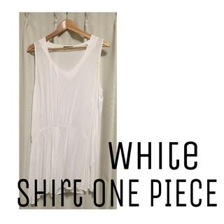 ミスティック(mystic)の美品●○●white shirt one-piece●○●(その他)