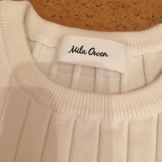 ミラオーウェン(Mila Owen)のミラ オーウェン ベルト付きセーター♡(ニット/セーター)