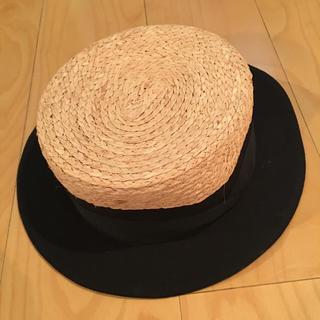 ワイスリー(Y-3)のY-3 ワイスリー カンカン帽 帽子 新品(麦わら帽子/ストローハット)