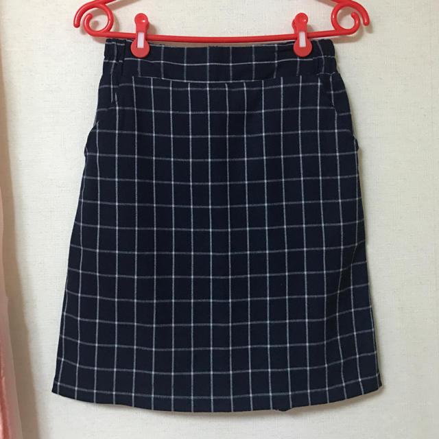 RayCassin(レイカズン)のRayCassin チェックスカート レディースのスカート(ひざ丈スカート)の商品写真