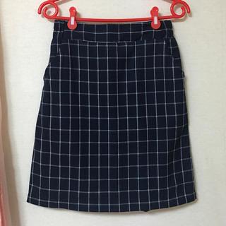 レイカズン(RayCassin)のRayCassin チェックスカート(ひざ丈スカート)
