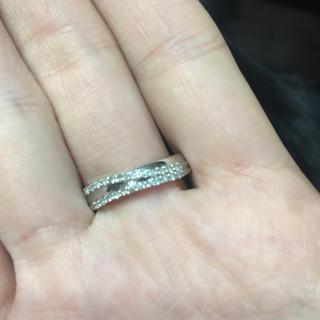WG ハーフエタニティのようなリング(リング(指輪))