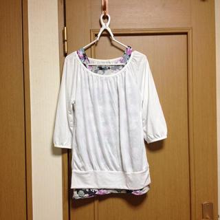 ジーユー(GU)のシンプル♡*゚七分袖シャツ(Tシャツ(長袖/七分))