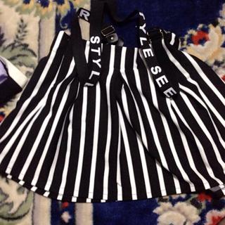 アンズ(ANZU)のやんやん様専用 ストライプスカート(ひざ丈スカート)
