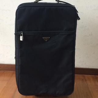 プラダ(PRADA)のお値下げ‼️正規品❣️プラダ キャリーケース収納できるハンドル付き❣️USED(スーツケース/キャリーバッグ)