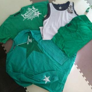 ティーラインロサーゼン(T-LINE ROSASEN)のTline Tシャツセット 四点!お得なセット!(Tシャツ/カットソー(七分/長袖))