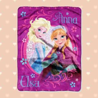 ディズニー(Disney)のEDLP-SD♪ブランケット♪アナと雪の女王 ラッシェル ディズニー USA(タオルケット)