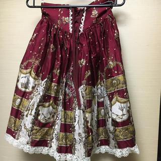 アリスアンドザパイレーツ(ALICE and the PIRATES)のアリパイコルセットスカート(ひざ丈スカート)
