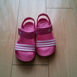 アディダス(adidas)のアディダス サンダル19㎝(サンダル)