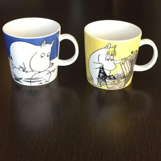 アラビア(ARABIA)のムーミン & フローレン マグカップ アラビア(グラス/カップ)