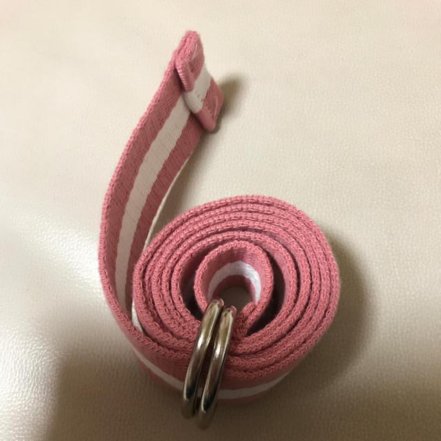 ピンク ベルト レディースのファッション小物(ベルト)の商品写真