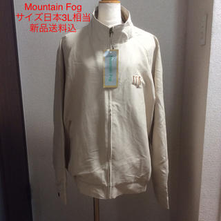 【新品タグ付】Mountain Fog ブルゾンサイズXL  ベージュ/ゴールド(ブルゾン)