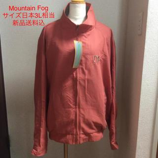 【新品タグ付】Mountain Fog ブルゾン サイズXL オレンジ/ゴールド(ブルゾン)