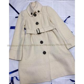 バーバリー(BURBERRY)の美品 バーバリー ブルーレーベル コート ベルト付き(ロングコート)
