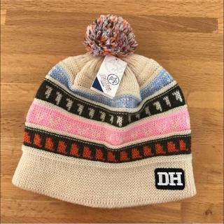 ダフイ(Da Hui)の【未使用】Da Hui 2,650円購入 ウール混 フリーサイズ ニット帽(ニット帽/ビーニー)
