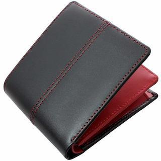 ディアブロ(Diavlo)の送料無料新品!ディアブロ  折財布 馬革×牛革KA-903赤RED メンズ(折り財布)