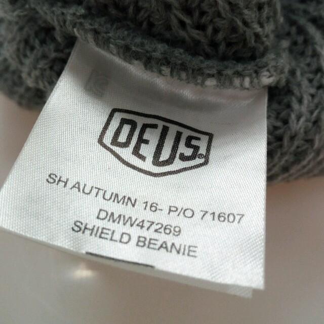 Deus ex Machina(デウスエクスマキナ)のデウス ニット帽 Deus Ex ハンドメイドのファッション小物(その他)の商品写真