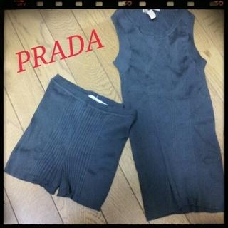 プラダ(PRADA)のPRADA♡セットアップ(gray)(セット/コーデ)