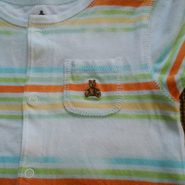 babyGAP(ベビーギャップ)のロンパース 70 babygap キッズ/ベビー/マタニティのベビー服(~85cm)(ロンパース)の商品写真