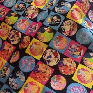 バービー(Barbie)のアメリカ購入バービーのプリント生地(生地/糸)