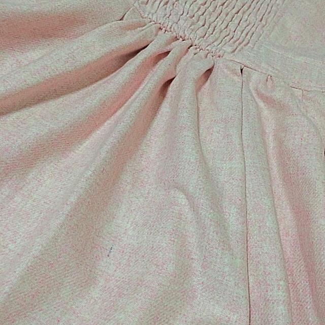 LIZ LISA(リズリサ)のリボン刺繍ワンピース(ピンク) レディースのワンピース(ひざ丈ワンピース)の商品写真