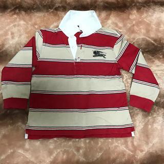 バーバリー(BURBERRY)の美品☆BURBERRY キッズ ラガーシャツ 110cm(Tシャツ/カットソー)