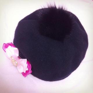マーズ(MA*RS)の【MA*RS】ベレー帽(ハンチング/ベレー帽)