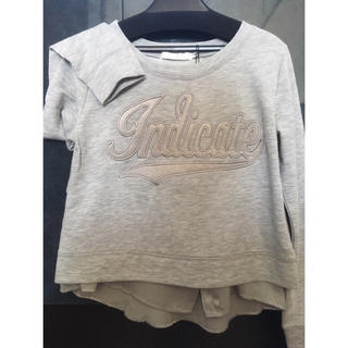 ココディール(COCO DEAL)のグレー ロゴ Tシャツ セット(Tシャツ(長袖/七分))