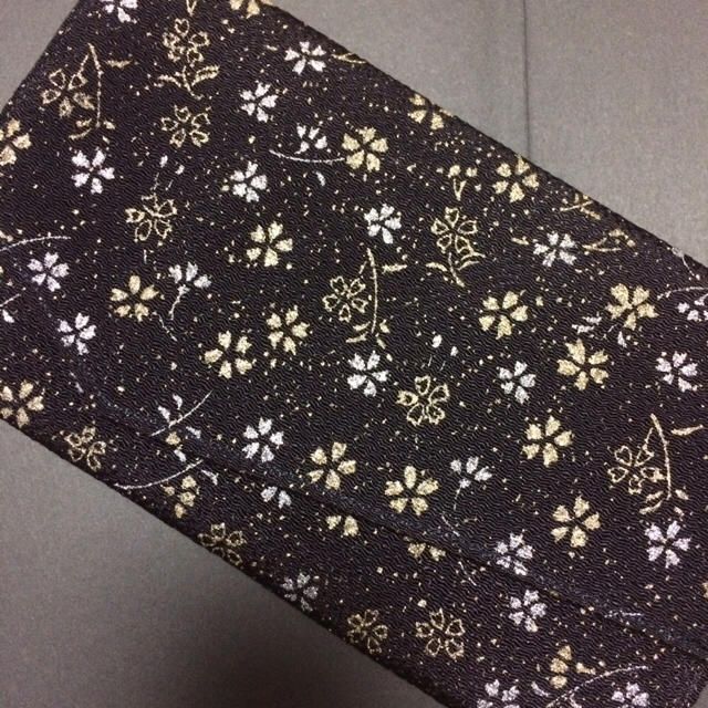 袱紗 黒 ハンドメイドのファッション小物(その他)の商品写真