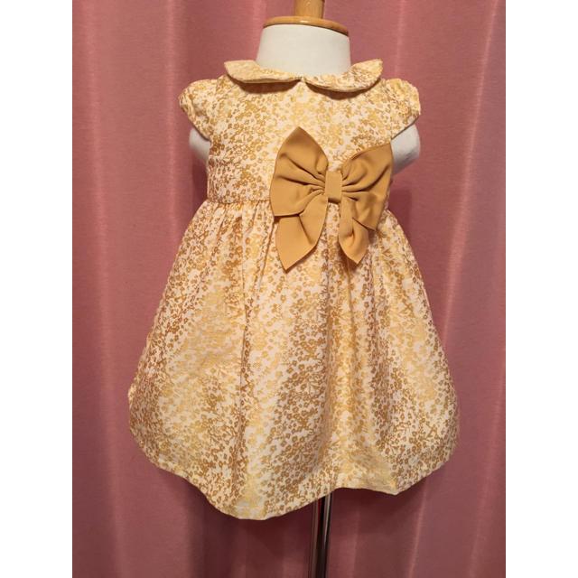 ベビードレス キッズ/ベビー/マタニティのベビー服(~85cm)(セレモニードレス/スーツ)の商品写真