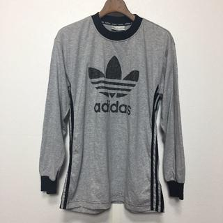 アディダス(adidas)の「adidas」ビックロゴTee(Tシャツ/カットソー(七分/長袖))