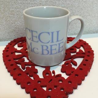 セシルマクビー(CECIL McBEE)の★セシル★ロゴ入りマグカップ(グラス/カップ)