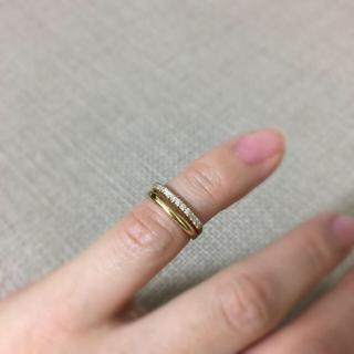 新品 k18ピンキーリング(リング(指輪))