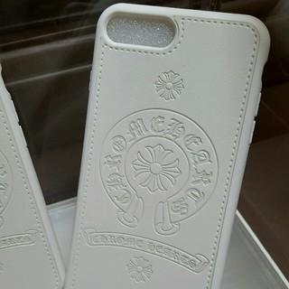 クロムハーツ(Chrome Hearts)の【ホワイト】iPhone7 plusスマホケース 最新クロムハーツデザイン (iPhoneケース)