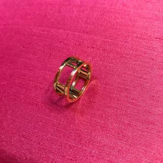 ティファニー(Tiffany & Co.)のティファニーアトラスリングイエローゴールド(リング(指輪))