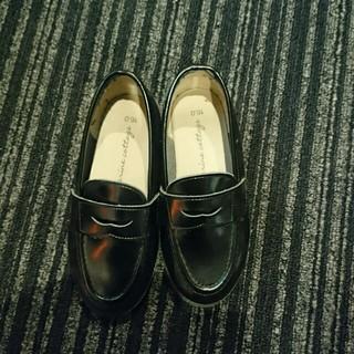 黒★ローファー★16CM★(ローファー/革靴)