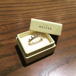 ノジェス(NOJESS)の最終値下げ nojess クラウンピンキーリング(リング(指輪))
