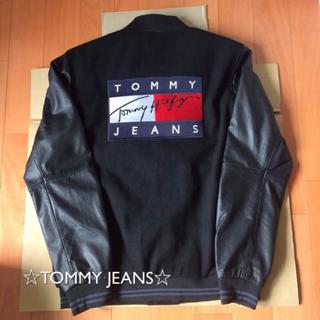 トミーヒルフィガー(TOMMY HILFIGER)の【本日で削除】tommy jeans ボンバージャケット(スタジャン)