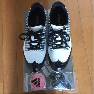 アディダス(adidas)のアディダスゴルフシューズ レディース(シューズ)