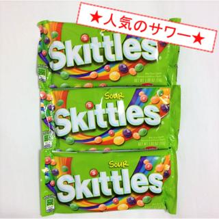★ハマります★ Skittles(スキットルズ)サワー味(3袋)(菓子/デザート)